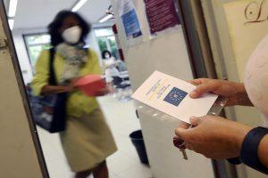 Green pass obbligatorio per tutti i lavoratori dal 15 ottobre.