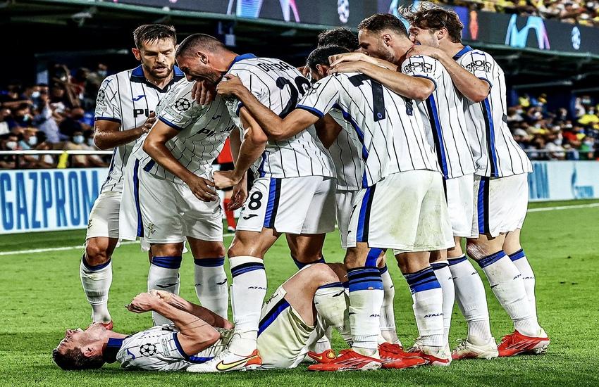 Champions League: Villarreal-Atalanta 2-2, Gasperini soddisfatto