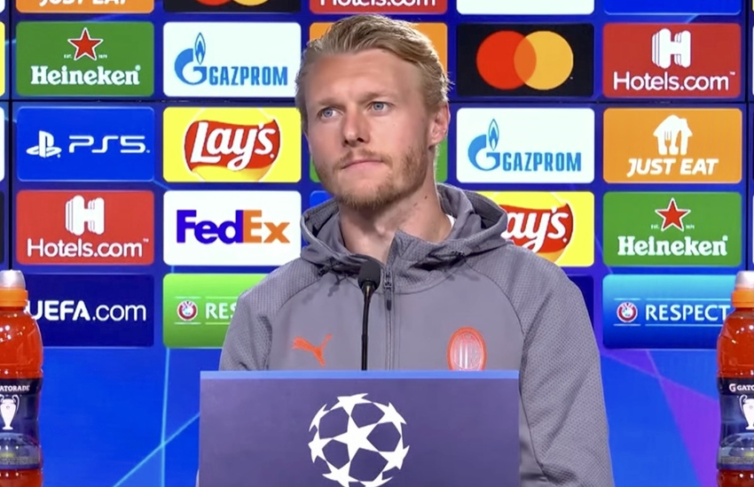 Milan: Kjaer, 'Non andremo ad Anfield in vacanza'