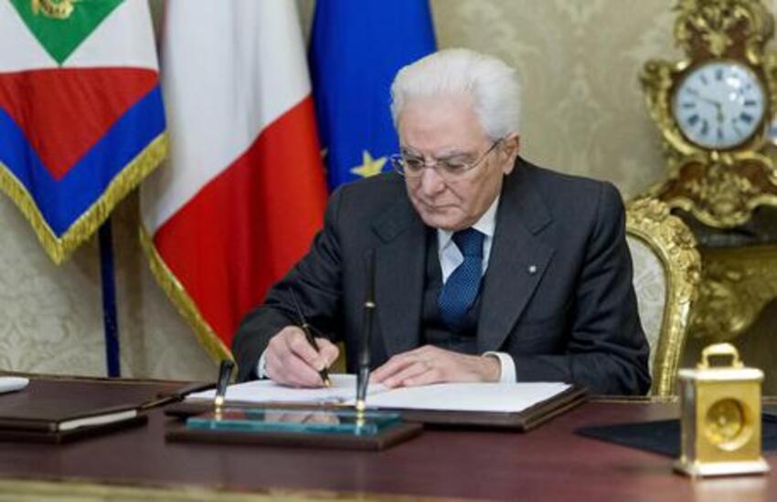 Covid: Mattarella firma il decreto green pass