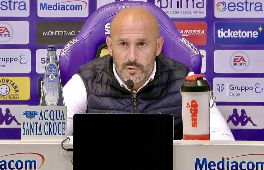 Fiorentina: Italiano, 'Per 70' all'altezza dei campioni d'Italia'