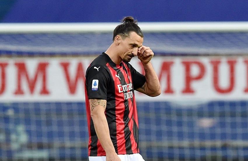 Milan: Ibrahimovic si ferma ancora, salta il Liverpool