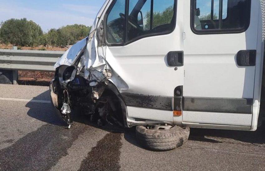 Grottaglie: Incidente stradale, muore motociclista di 34 anni