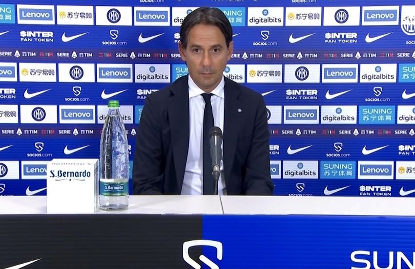 Inter: Inzaghi, 'C'è rammarico solo per il risultato' (Video)