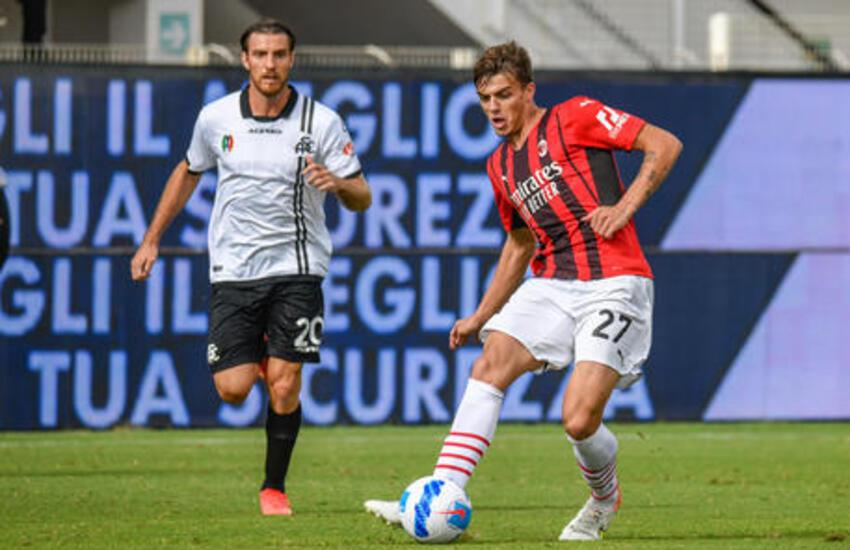 Spezia-Milan 1-2: C'è anche la firma storica di Daniel Maldini