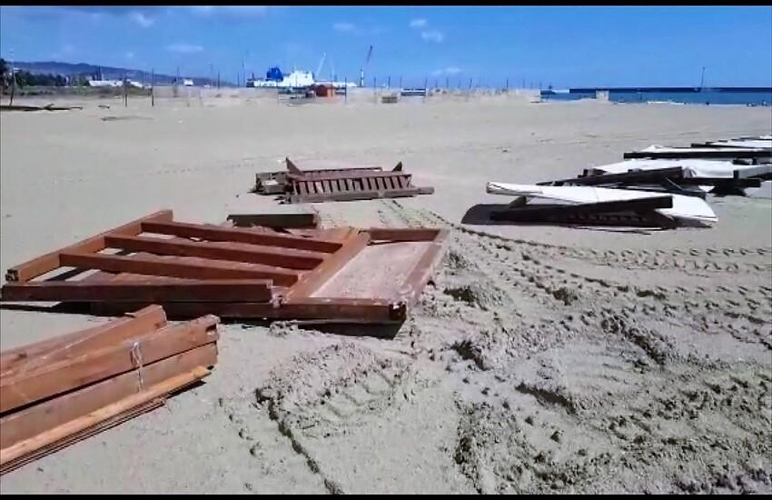 """Maltempo Catania, paura e danni alla Playa: """"Spero che le persone capiscano che Dio esiste"""""""