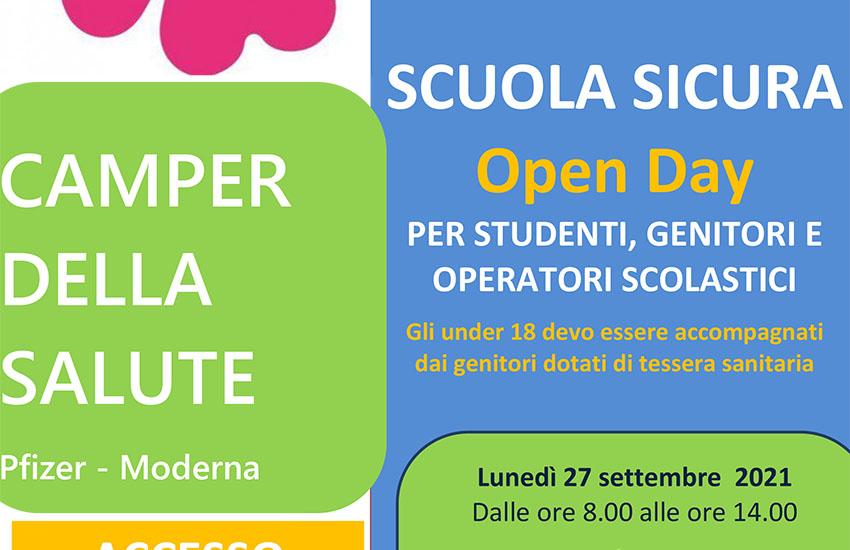 Campagna vaccinale anti-covid ad Avellino: prosegue scuola sicura