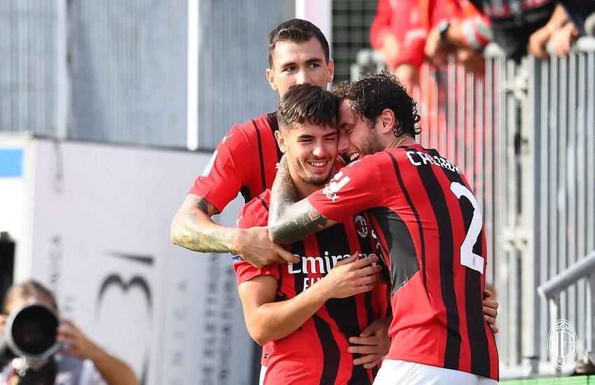 Spezia-Milan 1-2: La sintesi di Dazn