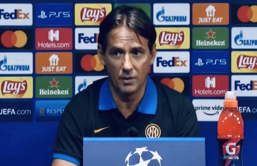 Inter: Inzaghi, 'Abbiamo l'opportunità di scrivere una bellissima pagina'