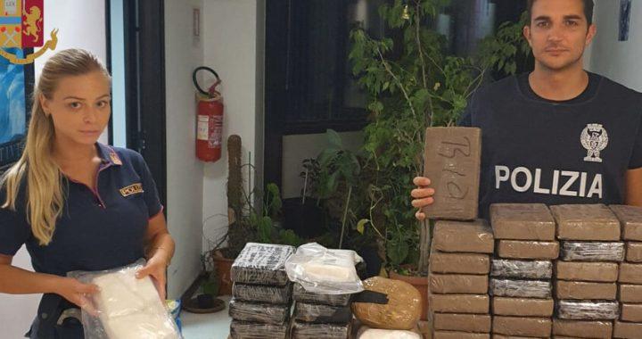 (Video) Colle del Sole, 50 kg di cocaina purissima sequestrata. Arrestato 41enne