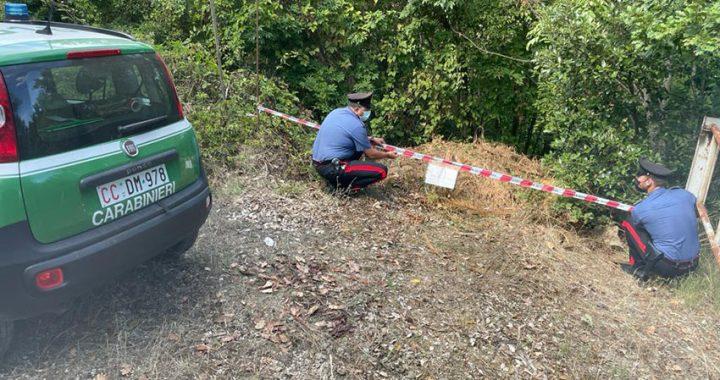 Monte Tifata, smaltimento illecito di rifiuti: denunciato un imprenditore