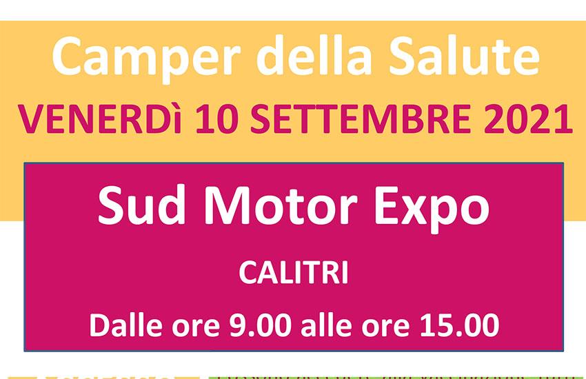 Calitri, un camper della salute al Sud Motor Expo