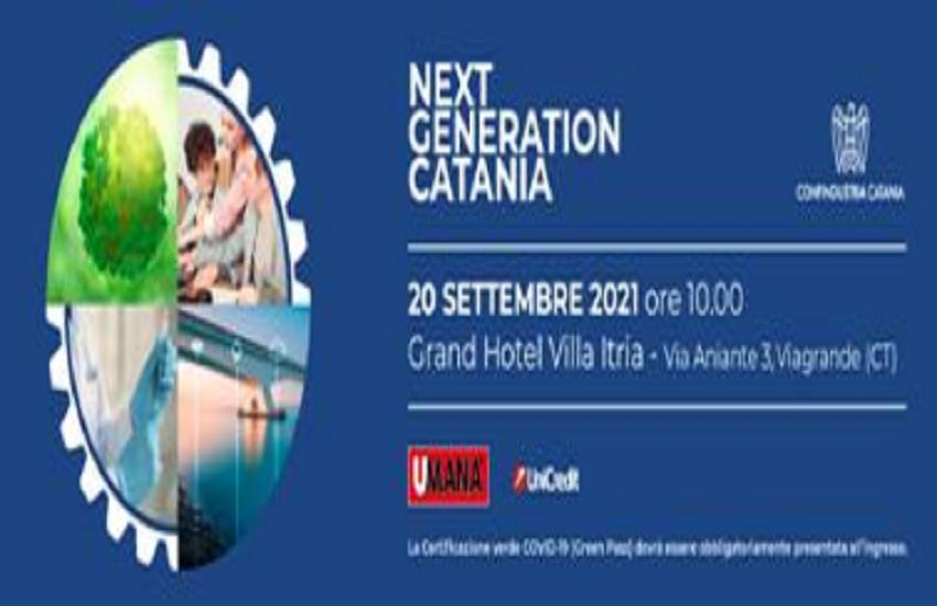Next Generation Catania, il 20 settembre all'hotel Villa Itria: sfruttamento fondi Piano di Ripresa