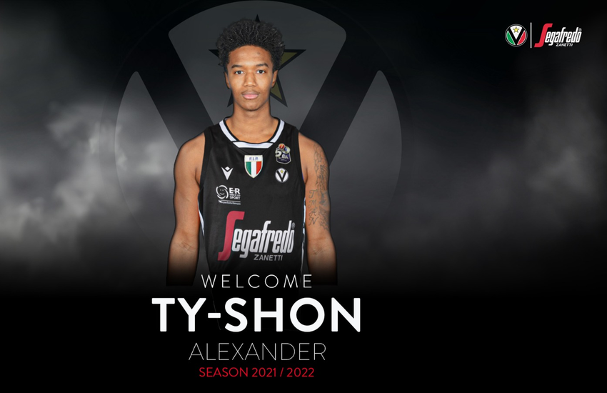 Virtus Bologna: Ty- Shon Leron Alexander è bianconero