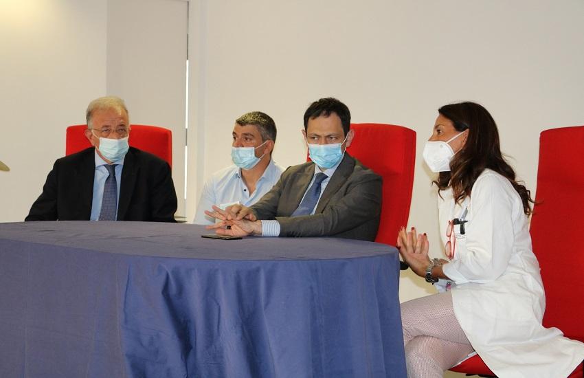 Ospedale Cannizzaro Catania, assessore Razza in visita per il decennale dell'Unità Spinale – VIDEO