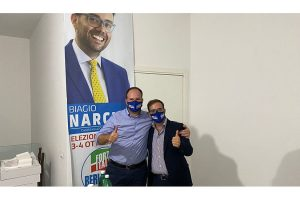 Il capolista di Forza Italia chiede scusa ai commercianti di via Tescione