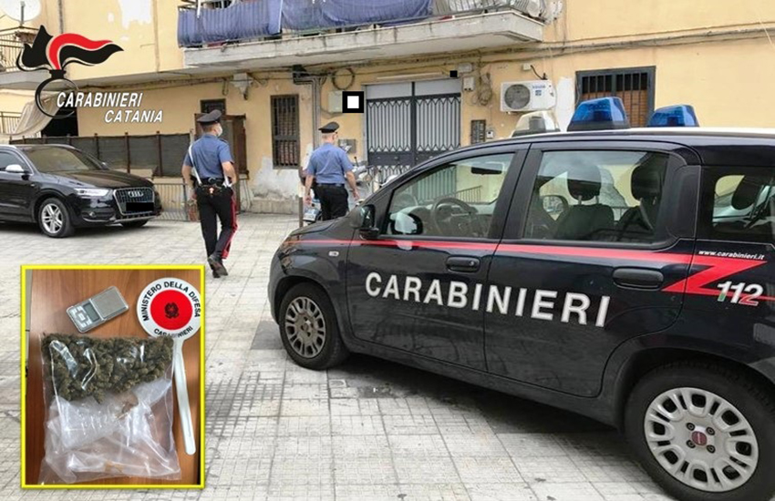 Catania: irruzione a Nesima, arrestato spacciatore pregiudicato