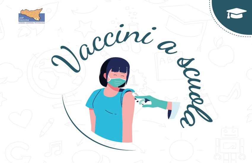 Vaccini a scuola: da domani al via la campagna vaccinale  nelle scuole della provincia iblea