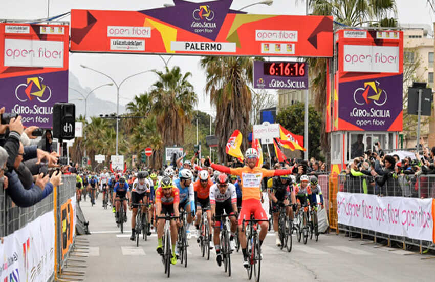 Il Giro di Sicilia 2021 fa tappa a Ragusa. Il percorso e le modifiche alla viabilità. Scuole chiuse a partire dalle 11