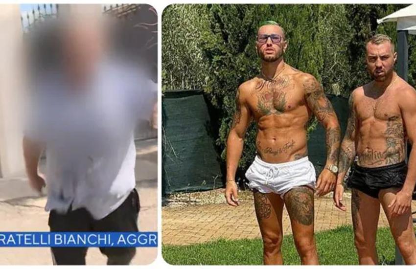 Colleferro, il papà dei fratelli Bianchi aggredisce troupe Rai: 3 giorni di prognosi al cameraman (VIDEO)