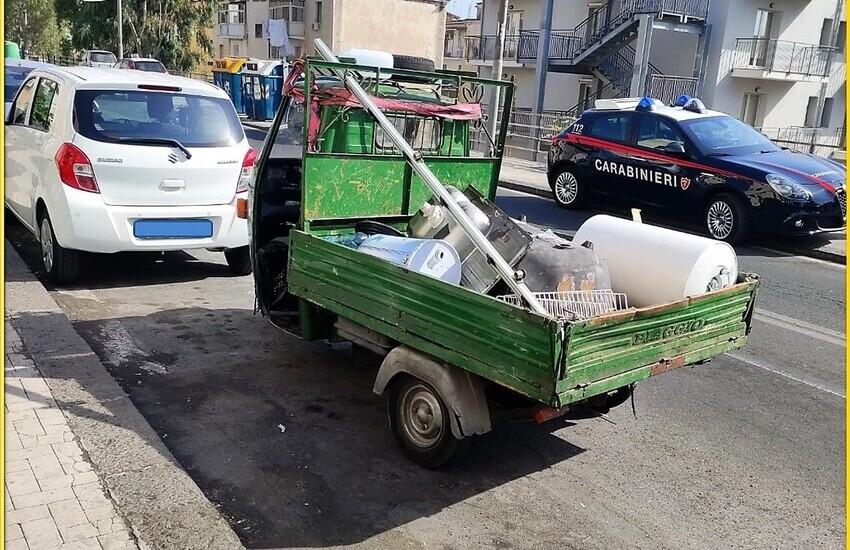 Trasporto rifiuti su strada irregolare, 6 le persone denunciate tra Acireale e Pedara