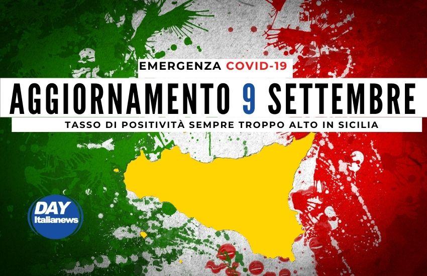 Covid 9 settembre, casi sotto i 1000 in Sicilia. Tasso di positività sempre alto