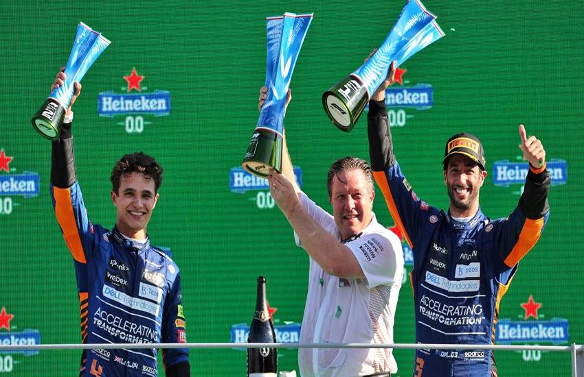 Formula 1, Gran Premio d'Italia. Disastro Hamilton-Verstappen, trionfa la Mclaren