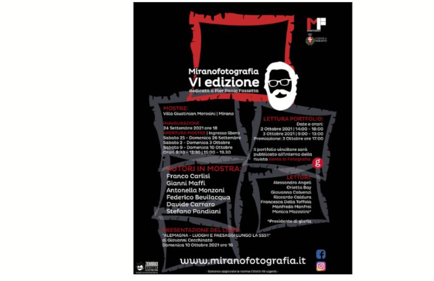 MiranoFotografia 2021, VI edizione dedicata a Pier Paolo Fassetta