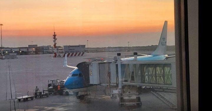 Aeroporto Marco Polo, sciopero nazionale del trasporto aereo, presidio sindacati