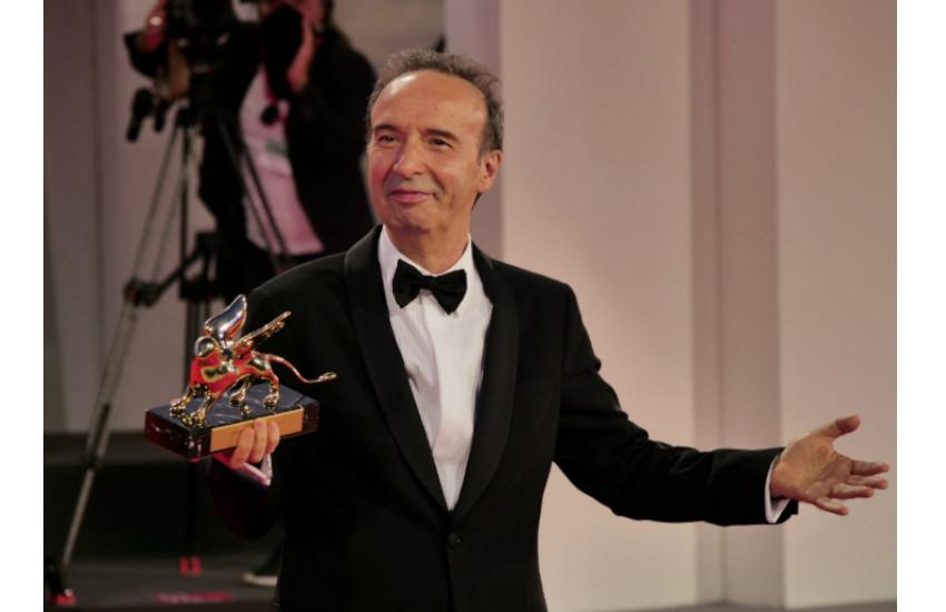 Lido, 78^ Mostra internazionale d'arte cinematografica: Leone alla carriera a Roberto Benigni