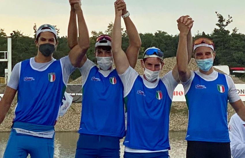 Terzo e quarto posto per gli atleti del Canoa Club San Donà alle Olympic Hopes, in maglia azzurra, nella repubblica ceca