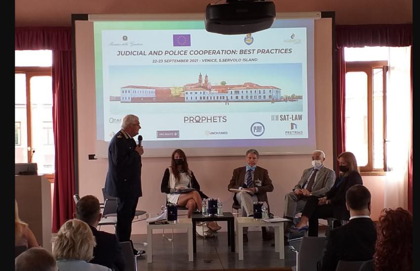 Venezia, a San Servolo convegno internazionale sulla cooperazione giudiziaria e di polizia