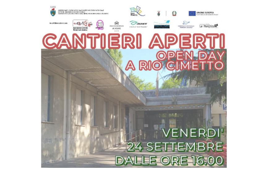 """Venerdì 24 settembre al centro civico """"Manin"""" della Gazzera l'iniziativa """"Cantieri aperti – open day delle associazioni"""""""