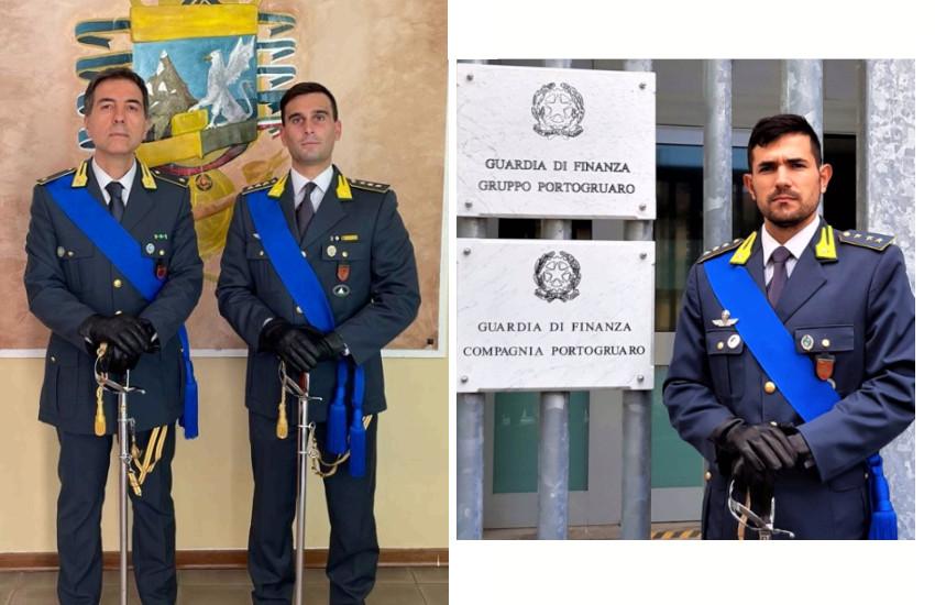 Cambio al vertice della tenenza di Jesolo e riconfigurazione della compagnia di Portogruaro in nucleo operativo del gruppo