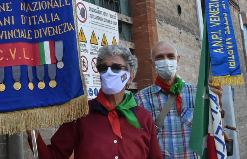Lido, commemorazioni: cerimonia in ricordo del partigiano Gallo