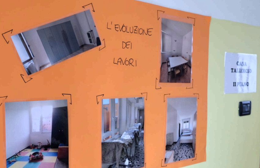 Mestre, inaugurata Casa Taliercio, una nuova casa famiglia per donne e bimbi in difficoltà