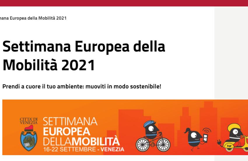 """Mestre e Venezia, al via con l'anteprima all'M9, la """"Settimana europea della Mobilità"""" 2021"""