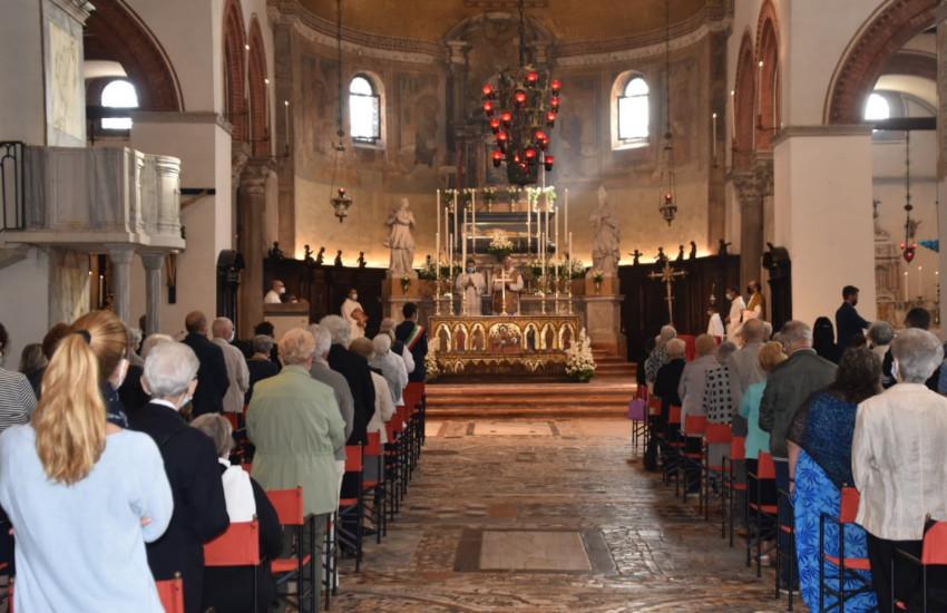 Murano, festa per la dedicazione della Basilica di San Donato