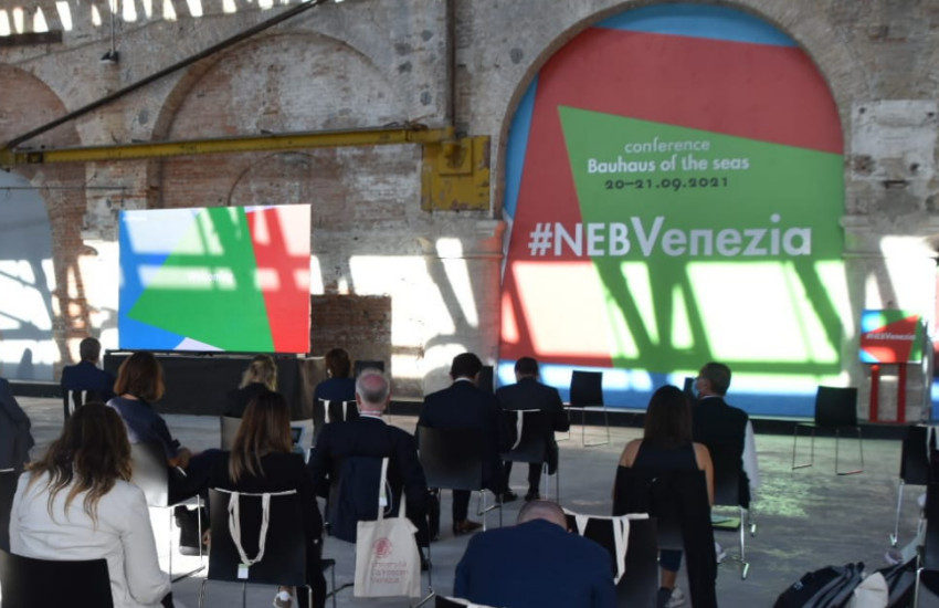 """Venezia ospita il """"Bauhaus dei mari"""", il progetto creativo e interdisciplinare per un futuro sostenibile e inclusivo"""