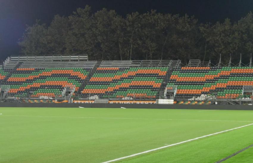 Ultimati i lavori allo stadio Penzo, domenica il debutto casalingo del Venezia in Serie A