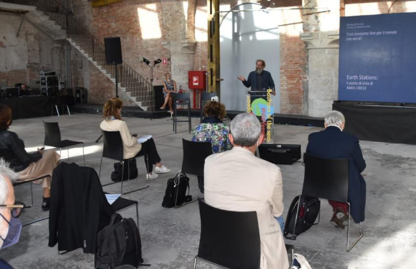 """Venezia, seconda giornata di """"Bauhaus dei mari"""", il progetto creativo e interdisciplinare per un futuro sostenibile e inclusivo"""