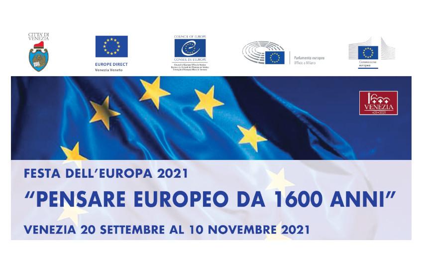 #FestaEuVenezia2021: da oggi al 10 novembre la sessione autunnale con un ricco calendario di eventi