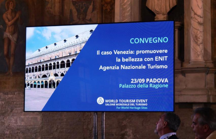 Venezia al World Tourism Event, il salone del turismo di Padova dedicato ai siti Unesco