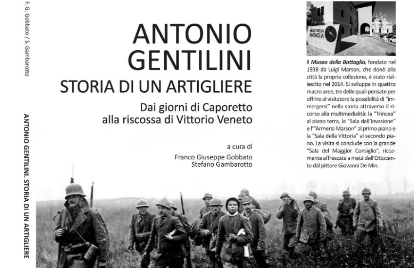 Giancarlo Gentilini al Museo della Battaglia di Vittorio Veneto per la presentazione del libro del padre Antonio, combattente della Grande Guerra