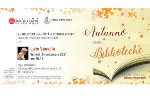 Vittorio Veneto, «La notte racconta». Lettura spettacolo con Livio Vianello