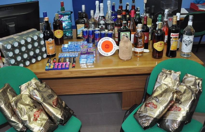 Sezze, furto al bar di via Casali: rinvenuta la refurtiva
