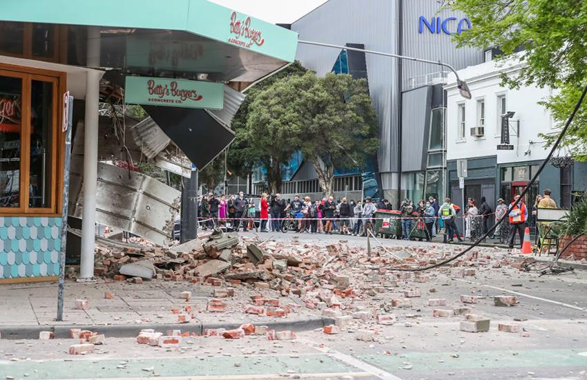Australia, terremoto di magnitudo 5.8 a nord-est di Melbourne. Si registrano danni ad edifici (VIDEO)