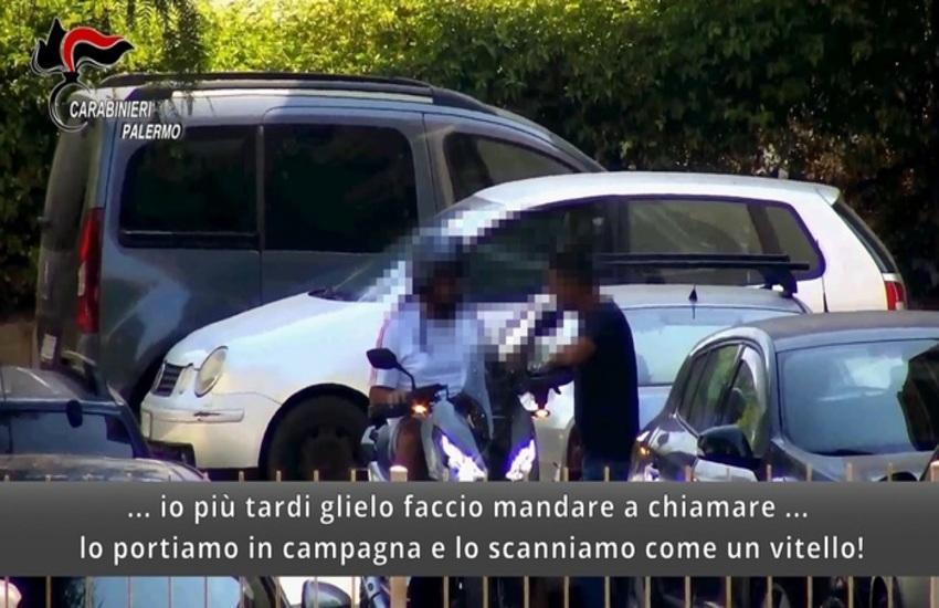 [VIDEO – Intercettazioni shock] Bagheria, 8 fermi per mafia, scongiurato un omicidio