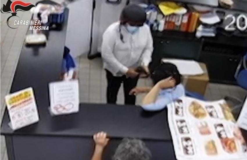 Rapinatori incastrati da videosorveglianza: due arresti a Messina