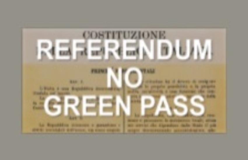 Raccolta di firme per il referendum No green pass. La campagna arriva anche a Ragusa
